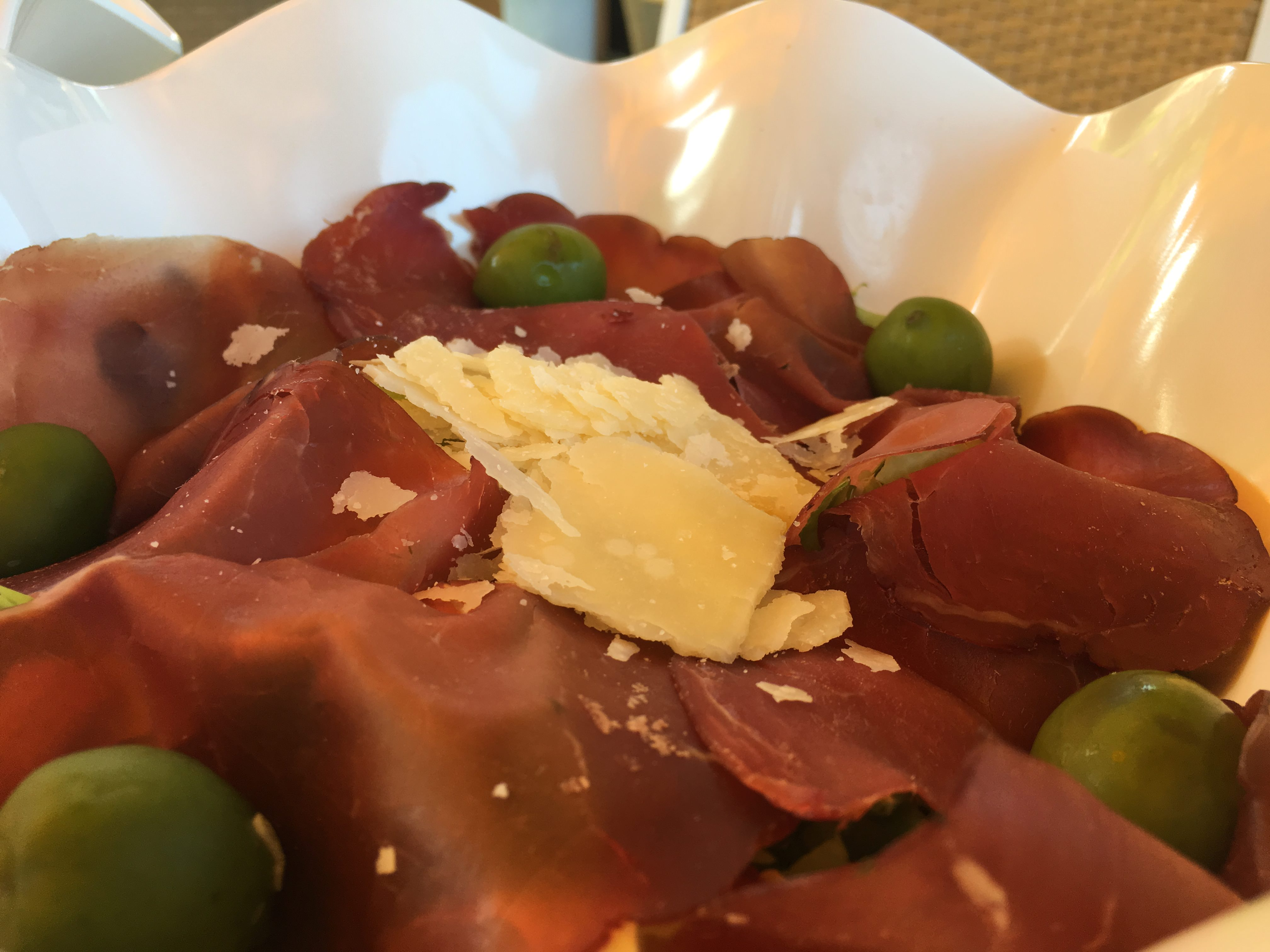 Le insalate compagne ideali di un pranzo fresco allo chalet ciro