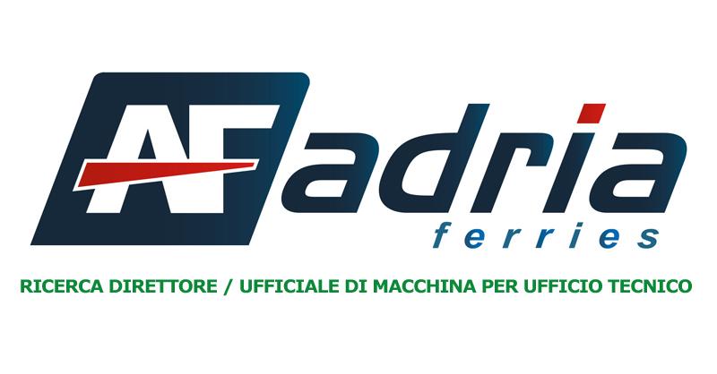 Adria Ferries ricerca direttore ufficiale macchina