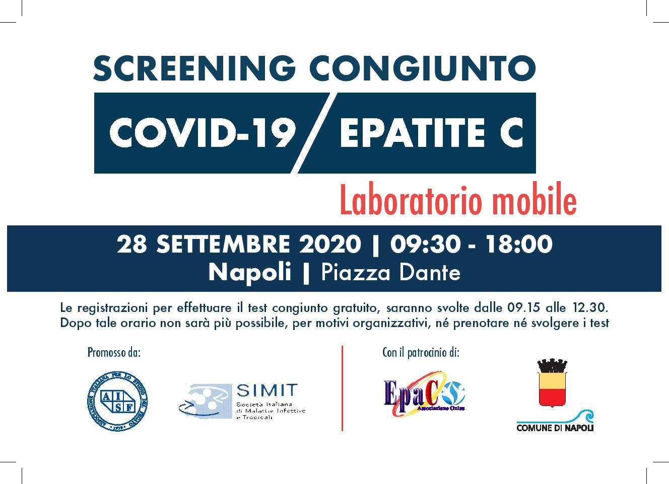 Coronavirus Ed Epatite C Screening A Napoli E Salerno Lunedi 28 E Martedi 29 Gazzetta Di Napoli