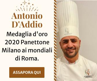 Antonio D'Addio medaglia d'oro Panettone Milano 2020
