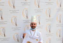 Antonio D'Addio medaglia d'oro panettne milano 2020