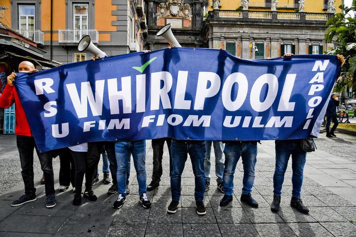 """Whirlpool, Ficco-Auriemma (Uilm): """"Ci aspettiamo dal Governo un progetto  solido per Napoli"""". - Gazzetta di Napoli"""